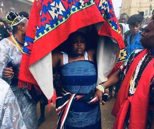 The Osun Osogbo festival